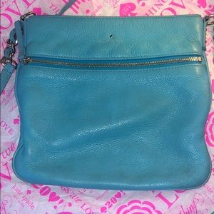 Kate Spade Cobble Hill Turquoise leather Crossbody